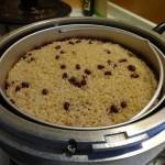 酵素玄米炊きあがり